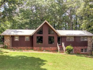 Unique 3BR Stone Mountain Home w/Wifi & Covered Deck - Only 5 Miles from Stone M