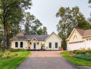 Enchanting 3BR Breezy Point Home w/Fire Pit, Wraparound Deck & Peaceful Water Vi