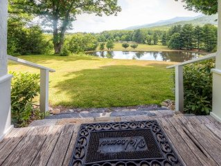 Pleasant 3BR Burnsville Home on 15 Private Acres w/Serene Mountain Views & 2 Spr