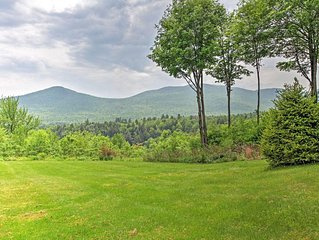 Newly Renovated 1BR Stowe Condo w/Private Deck - Close to Stowe Ski Slopes, Hiki