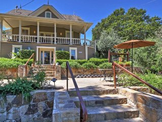 Magnificent 7BR Calistoga House w/Wifi, Private Heated Pool, Hot Tub & Grill - C