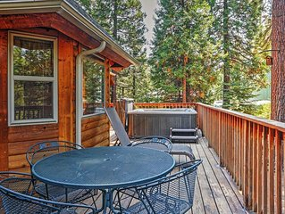 Spacious 3BR Shaver Lake Cabin w/Private Hot Tub & Wifi - Nestled in the Sierra