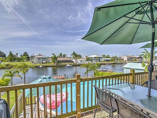 Bright & Spacious 4BR Hernando Beach Waterfront Home w/Private Dock for your Boa