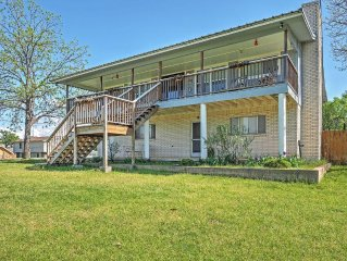 Lush 4BR Lake LBJ Home in Texas Hill Country - Just 2 Miles from Horseshoe Bay R