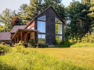 """'Shaker Hill"""" Open & Secluded 5BR Great Barrington House w/Wifi, Large Private F"""