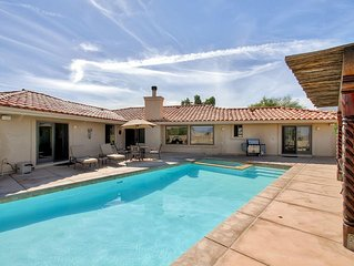 Stunning 4BR Borrego Springs House at Rams Hill Golf Resort w/Wifi, Private Back
