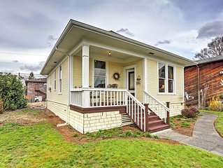 Charming 2BR Marysville Cottage w/Wifi & 2 Covered Porches - Tremendous Location