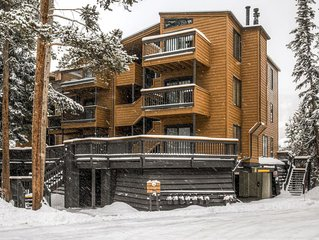 Exceptional 5BR Condo at Keystone - Walk to the Ski Lifts! *Enjoy Community Pool