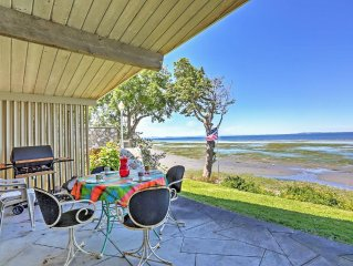 Alluring 2BR Birch Bay Waterfront Cottage w/Wifi, Private Patio & Gorgeous Birch