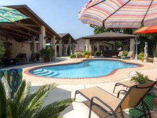 Peaceful 3BR Kerrville House w/ Private Pool & Hot Tub - Close to the City with