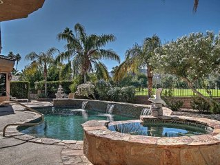 Luxury 4BR/3BTH South Palm Springs Custom House w/Private Pool & Jacuzzi. On Tah