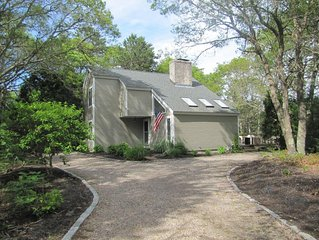 New Seabury Beautiful Private Home with Central AC and a Huge Mulit-Level Deck