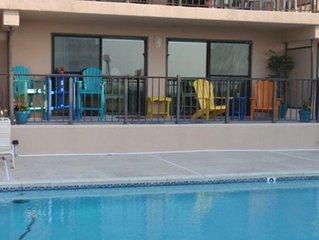 Oceanfront Condo - 1st Floor - Pool View 2BR/2BA