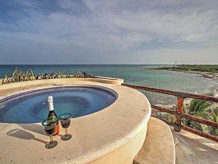NEW! 2BR Mahahual Villa w/Ocean Views!