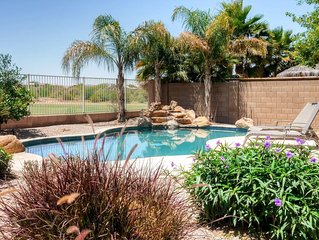 Delightful 4BR Maricopa House w/Wifi, Private Heated Pool & Large Covered Balcon