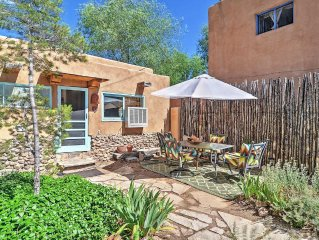 Idyllic 2BR Santa Fe Cottage w/Wifi, Lovely Furnished Courtyard & Attractive Loc