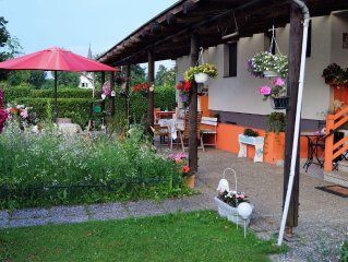 Nice and spacious 2-person holiday home close to the Kloppeinersee and Turnersee
