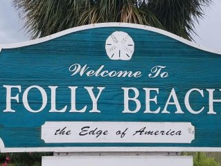 Slice of Folly heaven! Oceanfront Condominium Townhouse