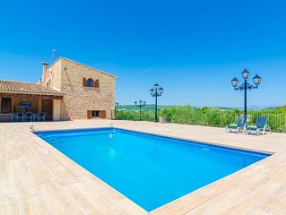 BINIFARDA - Villa for 16 people in Sant Joan.