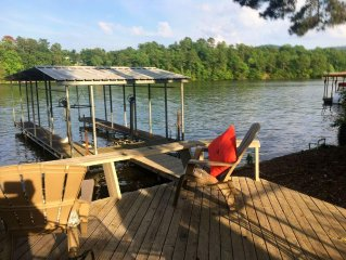 Lake Hamilton Waterfront Hideaway, Private Dock, Lakeside Deck, Outdoor Living