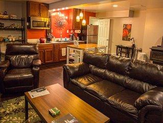 Modern Studio Apartment 1.5 miles from Lake Placid Village