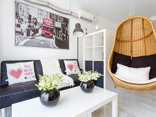 Semi-loft romantico y actual(wifi alta velocidad-a/a)VFT/CA/01443