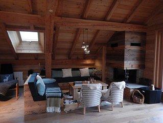 Magnifique appartement de luxe - 8 a 9 couchages de 132m2  piste de ski a pied