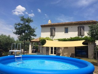 Villa 6 persons with pool Pertuis