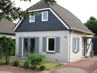 Nordseepark, close to beach, 6pers.large garden, incl. electr.gas,water, wifi