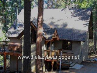 Lazy Bear Lodge - Gorgeous renovated, Blue Lake Springs Chalet, Kid Friendly!
