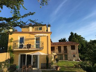 Casa Caroline: Panoramic location among wine fields, 30 mins from Genoa