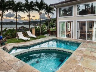 Sea Breeze House - 4bd, waterfront with pool, hot tub & piano