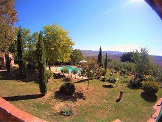 """Farmhouse Villa Cozzano, Apartment """"La Scuola"""""""