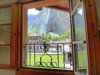 Apartment Grosshorn  in Lauterbrunnen, Bernese Oberland - 4 persons, 2 bedrooms