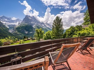 Chalet Luftschloss, Stunning Free Standing Chalet With Amazing Mountain Views