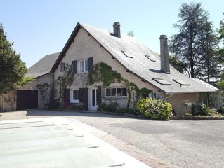Lee: Big villa quiet close to Pau and Lourdes
