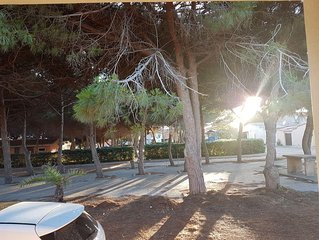 Mandriola a short walk from the wide beach holiday house with 7 beds ..!