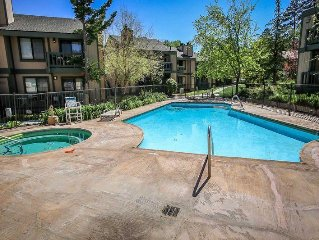 Affordable Bayside Condo - Lakefront complex with seasonal pool and hot tub!