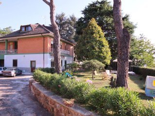 An ideal home for families or groups of friends-Near Rome-In the Castelli Romani