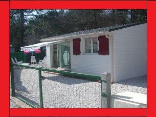 Chalet/mobilhome dans Parc résidentiel de loisirs  bassin d'arcachon KHELUS-club