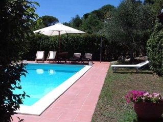 Holiday house with pool 40 km from Siena