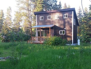 Fantastic Location, New Cabin Near Glacier National Park