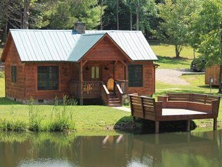 Secluded, Cozy, Cabin - Seven Springs - Sleeps 4