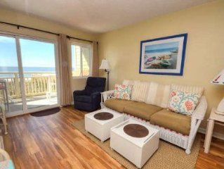 Aah, Awesome-OIBV 106-2 Story, Ocean Front Condo on Caswell Beach-2 Bdrm/2.5 Ba
