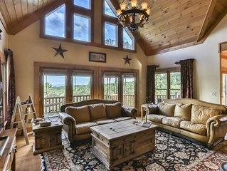 Highly Sought After TOTALLY Secluded 5Bed Luxury Lodge with Breathtaking Views