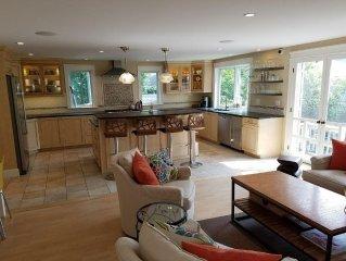 Large Beach Home - gourmet kitchen, dog OK!