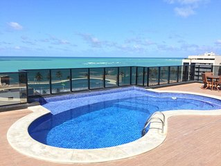 A must! Apts for Rent in Maceio - 150m from the sea - 3/4 all with Air Split