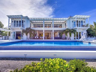 Dazzling 5-Star Oceanfront Villa w/ Private Pool, Beach ✭✭✭✭✭