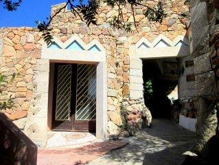 Apartment in prestigious villa with sea view (WiFi) Villasimius-Solanas