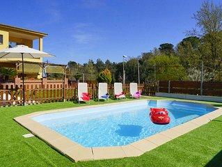 Ideal fuer 1-2 Familien: Privatpool, Sauna, Garten, ruhige Lage, Hunde moglich